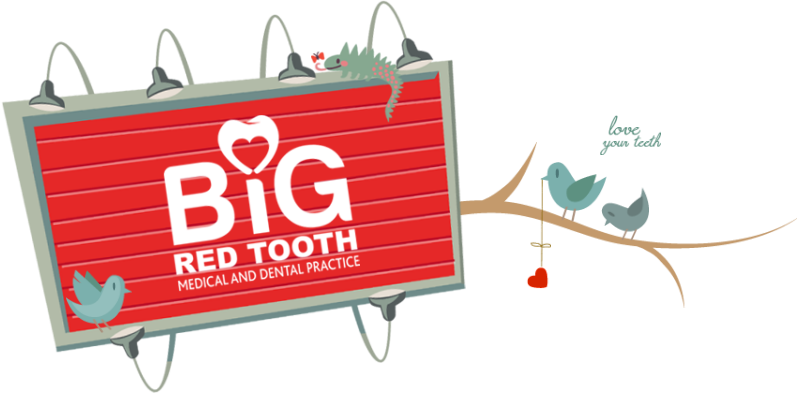 Big Red Tooth